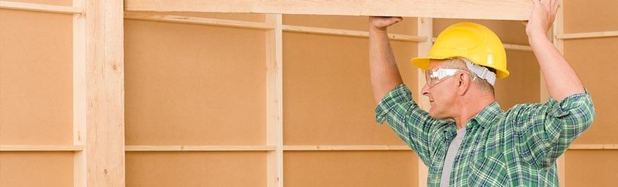 houten wanden en plafonds